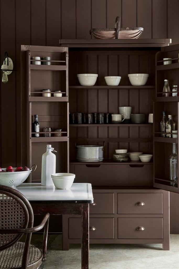 Intelligent Satin: краска Little Greene для кухонных фасадов и деревянной мебели